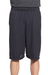 Men's Under Armour 'Select' Moisture Wicking Basketball Shorts Black Red Red
