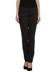 Brian Dales Casual Pants Dark Brown