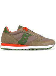 Saucony Panelled Sneakers Nude And Neutrals