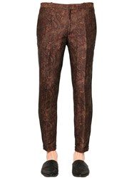 The Kooples Paisley Jacquard Linen Pants