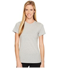 New Balance Heather Tech Tee Athletic Grey Women's T Shirt Gray