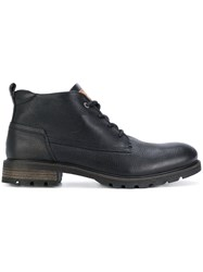 Tommy Hilfiger Lace Up Boots Black