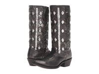 Laredo Diamond Black Cowboy Boots