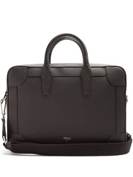 Mulberry Belgrave Grained Leather Briefcase Black