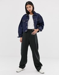 Weekday Oversized Trousers In Black
