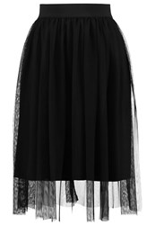 Only Onlshell Aline Skirt Black