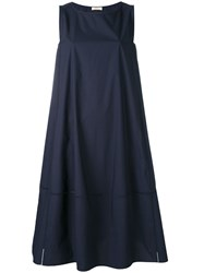 Wunderkind Flared Dress Women Cotton 36 Blue