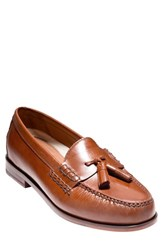 Cole Haan Men's 'Pinch Grand' Tassel Loafer British Tan Leather