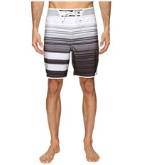 Hurley Phantom Hyperweave Block Party Code 18 Boardshorts Black Men's Swimwear