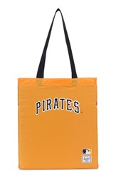 Herschel Supply Co. Packable Mlb National League Tote Bag Yellow Pittsburgh Pirates