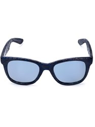 Italia Independent 'I Plastik' Sunglasses Blue