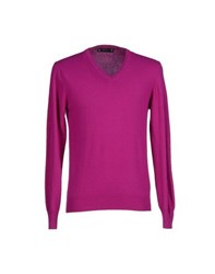Post Road Knitwear Jumpers Men Light Purple
