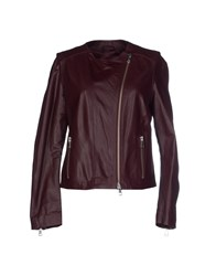 Philosophy Di Alberta Ferretti Coats And Jackets Jackets Women Deep Purple