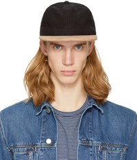Paa Black Suede Ball Cap