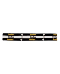 Little Earth Pittsburgh Steelers Elastic 3 Pack Elastic Headbands