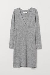 Handm H M Mama Nursing Dress Gray