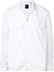 Hugo Boss Lightweight Jacket White