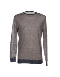 Gold Case By Rocco Fraioli Sweaters Dove Grey