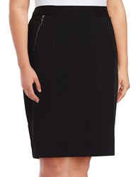 Nipon Boutique Plus Ponte Pencil Skirt