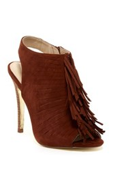 Kristin Cavallari By Chinese Laundry Lindy Fringe Bootie Red