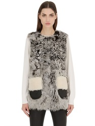 Coach Curly Shearling Vest