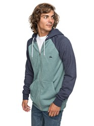Quiksilver Men's Everyday Zip Hoodie Green