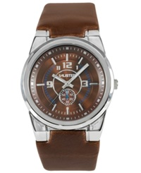 Unlisted Watch Men's Brown Leather Strap Ul1131
