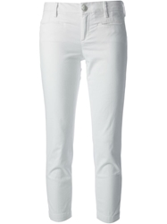 Jacob Cohen Cropped Trousers White