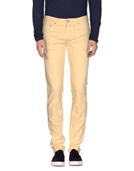 Harmontandblaine Denim Denim Trousers Men Yellow