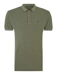 Label Lab Teller Pique Polo Military Green