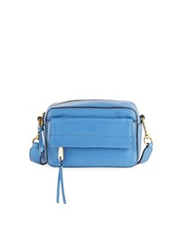 Cole Haan Kathlyn Leather Camera Crossbody Bag Blue