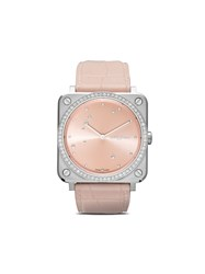 Bell And Ross Br S Pink Diamond Eagle Diamonds 39Mm