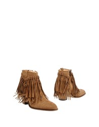 Free Lance Ankle Boots Camel