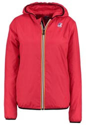 K Way Kway Le Vrai Claude Light Jacket Red