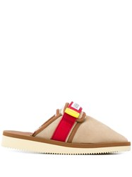 Suicoke Panelled Slippers 60