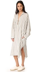 6397 Summer Caftan Black White Stripe