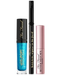 Too Faced 3 Pc. Mermaid Glitter Set No Color