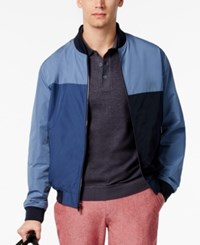 Weatherproof Ryan Seacrest Distinction Rio Collection Men's Bomber Jacket Only At Macy's Blue
