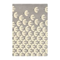 Scion Pajaro Rug Steel Grey