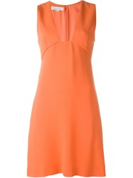 Stella Mccartney 'Aline' Dress Yellow And Orange
