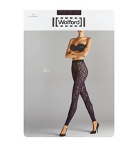 Wolford Jes Patterned Leggings Female Purple