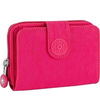 Kipling New Money Medium Nylon Wallet Cherry Pink C
