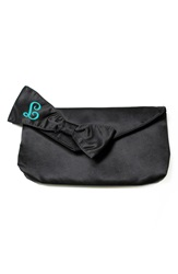 Cathys Concepts Personalized Satin Bridesmaid Clutch With Survival Kit