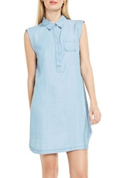 Vince Camuto Women's Two By Chambray Shirtdress