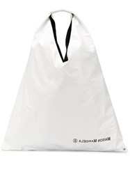 Maison Martin Margiela Mm6 Logo Detail Tote Bag 60