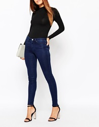 Warehouse Second Skin Jeans Indigo