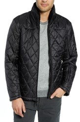 Tumi Transit Quilted Jacket Black