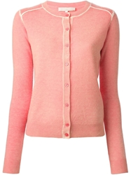 Vanessa Bruno Faded Cardigan Pink And Purple
