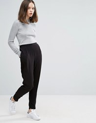 Only Ace Pleated Smart Trousers Black