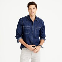 J.Crew Wallace And Barnes Selvedge Denim Shirt